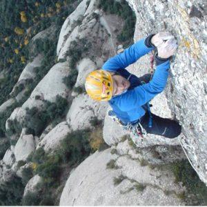 Curs escala en roca via llarga nivell 2