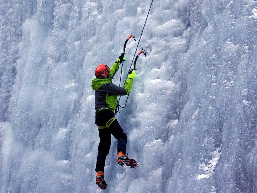 Escalada gel Canadian Rockies